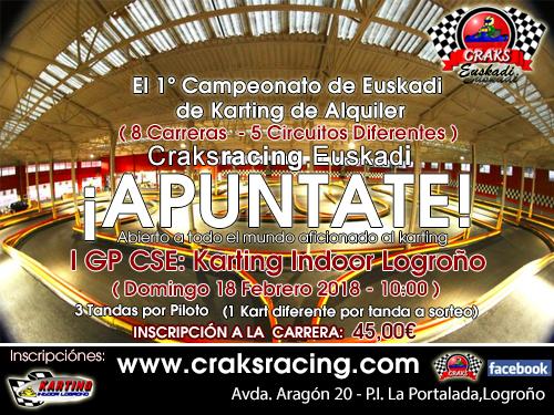 I GP Craks racing euskadi 2018